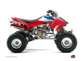 Honda 400 TRX ATV Stage Graphic Kit Blue Red