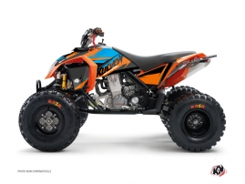 Kit Déco Quad Stage KTM 450-525 SX Orange Bleu