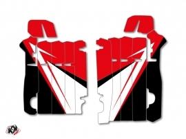 Graphic Kit Radiator guards Stage Honda 450 CRF 2013-2016 Red