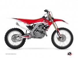 Kit Déco Moto Cross Stage Honda 450 CRF Rouge