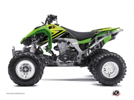 Kawasaki 450 KFX ATV Stage Graphic Kit Green