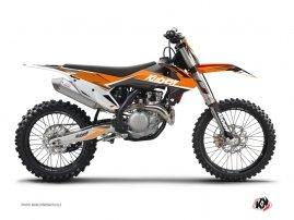 Kit Déco Moto Cross Stage KTM 450 SXF Orange
