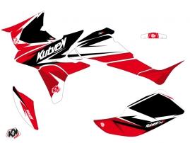 Kit Déco Quad Stage Honda 450 TRX Noir Rouge