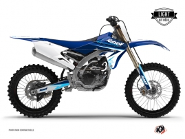 Kit Déco Moto Cross Stage Yamaha 450 YZF Bleu LIGHT