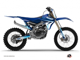 Kit Déco Moto Cross Stage Yamaha 450 YZF Bleu