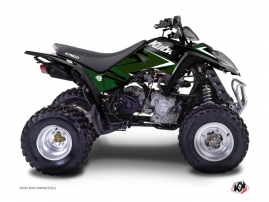 Kymco 50 MAXXER ATV Stage Graphic Kit Black Green