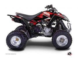 Kit Déco Quad Stage Kymco 50-90 MAXXER Rouge Noir