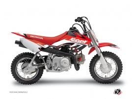 Kit Déco Moto Cross Stage Honda 50 CRF Rouge