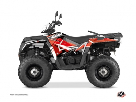 Polaris 570 Sportsman Touring ATV Stage Graphic Kit Red