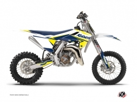 Kit Déco Moto Cross Stage Husqvarna TC 65 Blanc Jaune