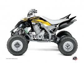 Yamaha 700 Raptor ATV Stage Graphic Kit Yellow 60th Anniversary