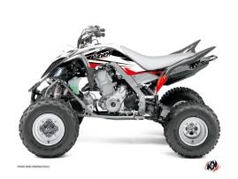 Kit Déco Quad Stage Yamaha 700 Raptor Noir - Rouge