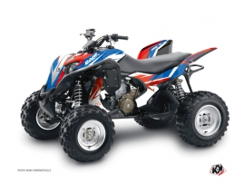 Honda 700 TRX ATV Stage Graphic Kit Blue Red