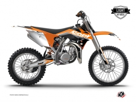 Kit Déco Moto Cross Stage KTM 85 SX Orange LIGHT