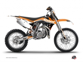 Kit Déco Moto Cross Stage KTM 85 SX Orange