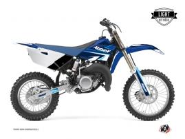 Kit Déco Moto Cross Stage Yamaha 85 YZ Bleu LIGHT