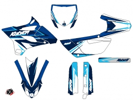 Yamaha 85 YZ Dirt Bike Stage Graphic Kit Blue