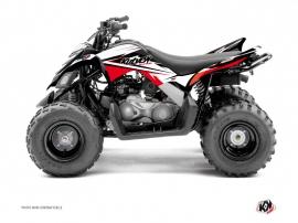 Kit Déco Quad Stage Yamaha 90 Raptor Noir Rouge