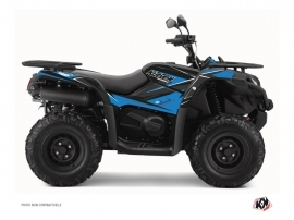 CF MOTO CFORCE 450 S ATV Stage Graphic Kit Blue Black