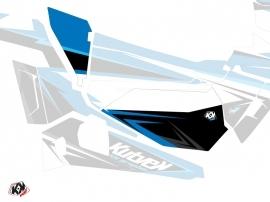 Kit Déco Portes Basses Dragonfire Stage SSV Polaris RZR 900S/1000/Turbo 2015-2017 Bleu