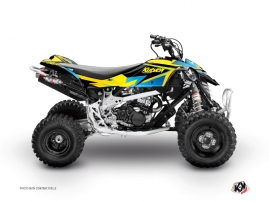 Kit Déco Quad Stage Can Am DS 450 Jaune Bleu