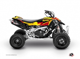 Can Am DS 650 ATV Stage Graphic Kit Yellow Red