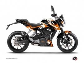 Kit Déco Moto Stage KTM Duke 125 Orange