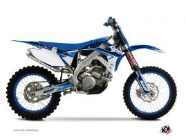 Kit Déco Moto Cross Stage TM EN 125 Bleu