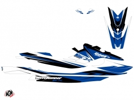 Yamaha EX Jet-Ski Stage Graphic Kit White Blue