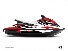 Kit Déco Jet-Ski Stage Yamaha EX Blanc Rouge