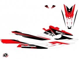 Yamaha EX Jet-Ski Stage Graphic Kit White Red
