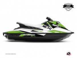 Yamaha EX Jet-Ski Stage Graphic Kit White Green LIGHT