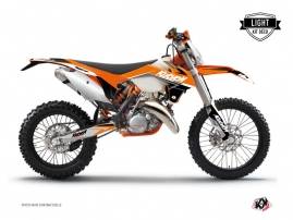 Kit Déco Moto Cross Stage KTM EXC-EXCF Orange LIGHT