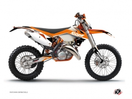 Kit Déco Moto Cross Stage KTM EXC-EXCF Orange