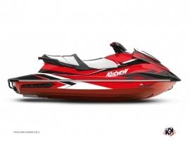 Kit Déco Jet-Ski Stage Yamaha GP 1800 Rouge Noir