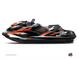 Kit Déco Jet-Ski Stage Seadoo GTR-GTI Orange Bleu