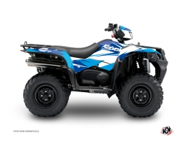 Suzuki King Quad 500 ATV Stage Graphic Kit Blue
