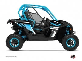 Can Am Maverick UTV Stage Graphic Kit Blue White