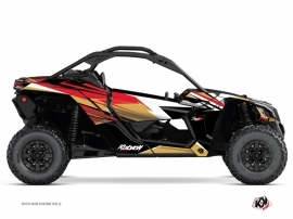 Can Am Maverick X3 UTV Stage Graphic Kit Gold