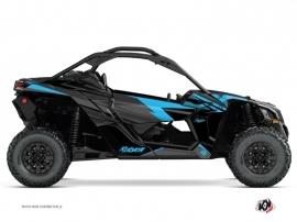 Kit Déco SSV Stage Can Am Maverick X3 Noir Bleu