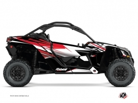 Kit Déco SSV Stage Can Am Maverick X3 Rouge