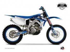 Kit Déco Moto Cross Stage TM MX 300 Bleu LIGHT
