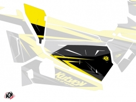Graphic Kit Doors Origin Low Stage UTV Polaris RZR 900S/1000/Turbo 2015-2017 Black Yellow