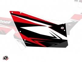 Kit Déco Portes Origine Polaris Stage SSV Polaris RZR 570/800/900 2008-2014 Noir Rouge
