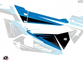 Kit Déco Portes Origine Stage SSV Polaris RZR 900S/1000/Turbo 2015-2017 Bleu