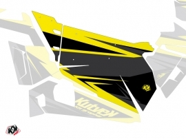 Graphic Kit Doors Origin Stage UTV Polaris RZR 900S/1000/Turbo 2015-2017 Black Yellow