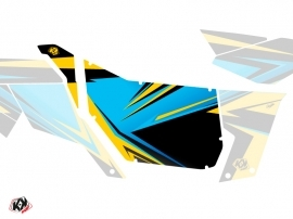 Kit Déco Portes Suicide Pro Armor Stage Can Am Maverick 2012-2017 Jaune Bleu
