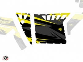 Graphic Kit Doors Suicide Pro Armor Stage UTV Polaris RZR 570/800/900 2008-2014 Black Yellow