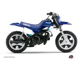 Kit Déco Moto Cross Stage Yamaha PW 50 Bleu