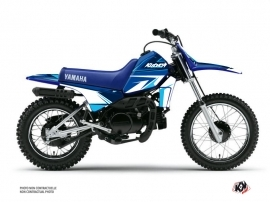 Yamaha PW 80 Dirt Bike Stage Graphic Kit Blue